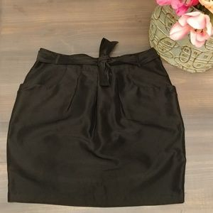 Gap tie waist mini skirt with pockets! 2270